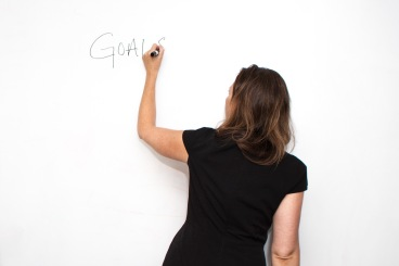 Goals: white board