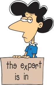 Expert is in