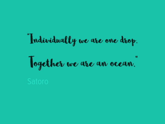 Together we are an ocean  Knowledge for Lawyers