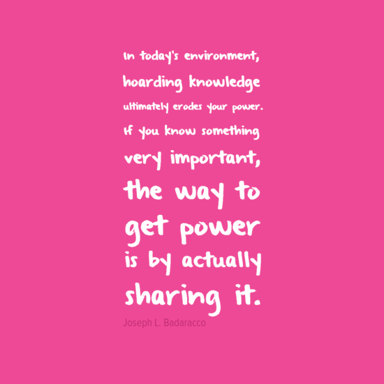 powerthrusharingknowledge
