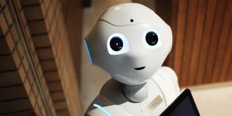 A smiley robot.